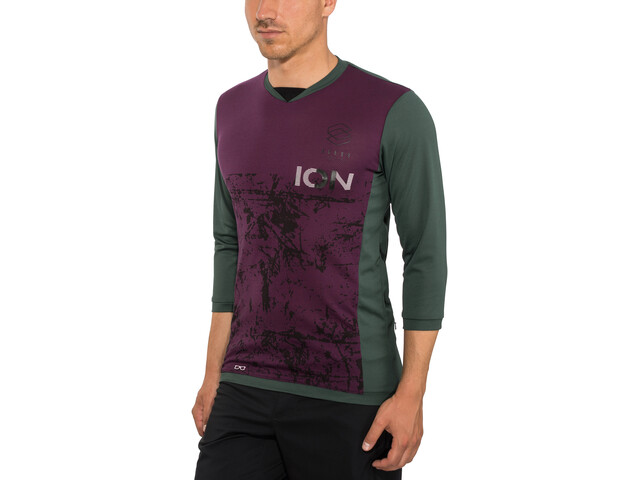 ION Scrub AMP T-shirt manches 3/4 Homme, green seek